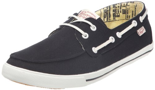 Original Penguin Men's Canvas Boat Shoe Lace Up