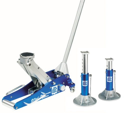 OTC 1533 Aluminum Racing Jack Pack  with 2-ton Capacity Jack with 2-ton Jack Stands