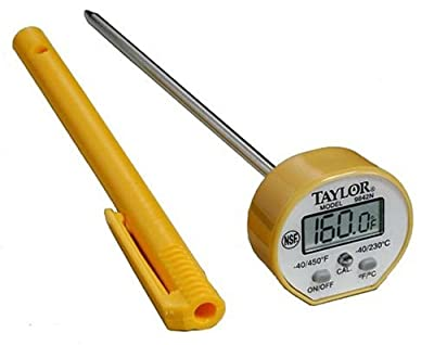 Taylor 9842 Commercial Waterproof Digital Thermometer by Taylor Thermometers
