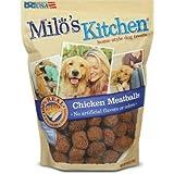 Milo's Kitchen Chicken Meatballs Dog Treat, 30 oz