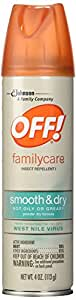 OFF Familycare Smooth and Dry Insect Repellent, 4 Ounce
