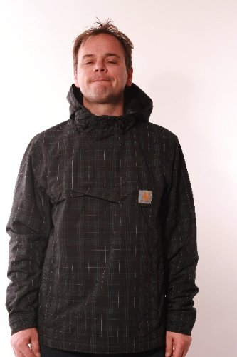 CARHARTT WINTER NIMBUS PULLOVER BLACK CHECK