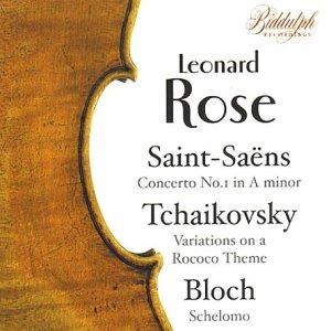 saint-saens : concerto n°1 - bloch : schelomo - tchaikovski : variations sur un theme de rococo - ma