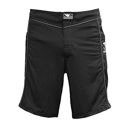 bad-boy-fuzion-da-uomo-pantaloncini-mma-black-grey-97-cm-xxl