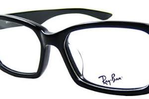 おしゃれなレイバン眼鏡 RB5130 RayBanメガネ 黒セルフレーム 度無し