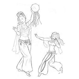 belly dancing pants