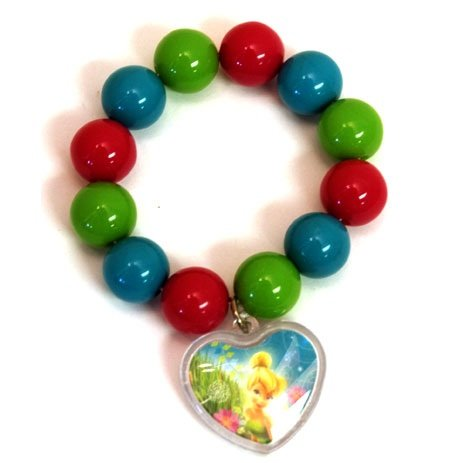 Disney Fairies Party Favors - 1 Bead Bracelet