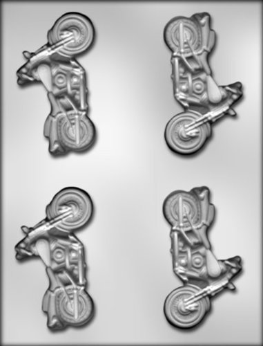 Ck Products 3-3/4-Inch Motorcycle Chocolate Mold