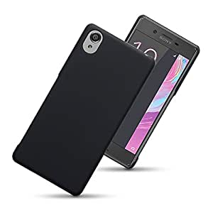 ScratchfreeDesign Rubberised Matte Hard Super Frosted Shield Protective Case Back Cover For Sony Xperia X