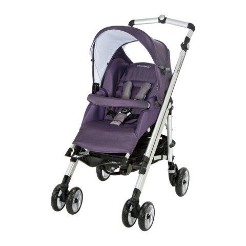 Imagen principal de Bébé confort Loola up sparkling grape - Cochecito. incluye chasis de aluminio, hamaca, capota, burbuja, cestilla y clip de sombrilla