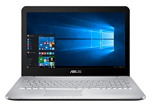 "Asus N552VW-FI056T Portatile, 15.6"", Intel Core i7-6700HQ, 16 GB RAM, 1 TB HDD + 256GB SSD, NVIDIA GeForce GTX 960M, Argento"