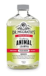 Dr. McGrath\'s Concentrated Conditioning Animal Shampoo, 500ml, Field Greens, Great for Dogs, Horses and Cats