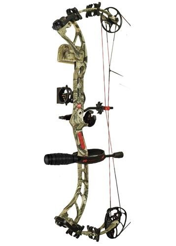 New PSE Bow Madness 34 Compound Bow 60# RH Mossy Oak Break-Up Country Camo