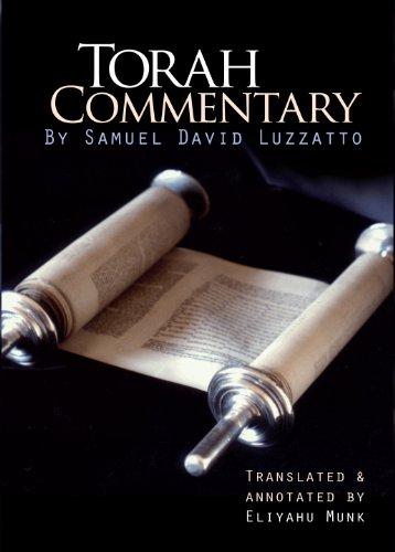 Shadal - Torah Commentary by Samuel David Luzzatto (4 vols.)