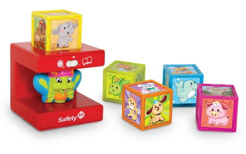 Safety First My 1st Learning Cubes - Animal Friends