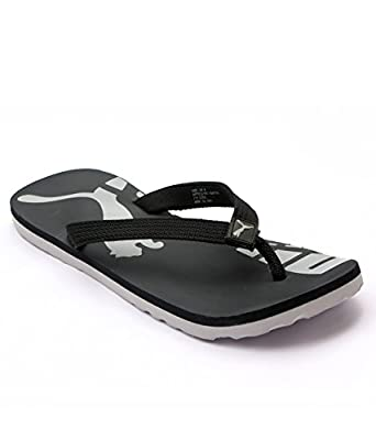 Puma John Black Flip Flops