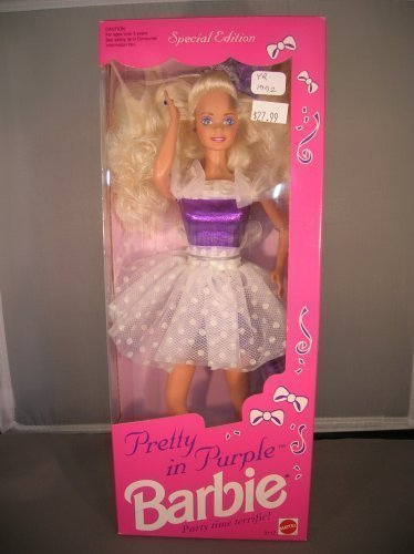 1992 Pretty in Purple Barbie - Special Edition by Mattel