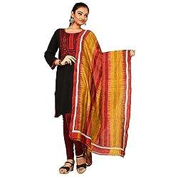 Darbari Women's Dupatta (OL-471_Multi Colour_Free Size)
