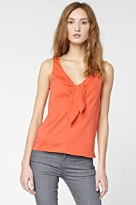 Lightweight Interlock Knot Tank Top