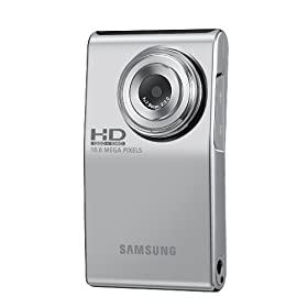 411TmPUd0sL. SL500 AA280  Samsung HMX U10 Ultra Compact Full HD Camcorder   $98