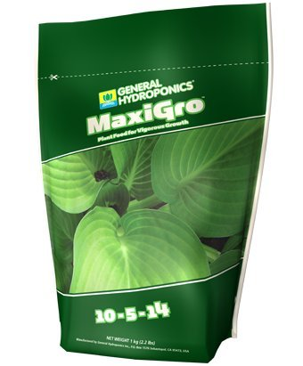 2.2 Lbs. - Maxigro - Grow Stimulator - Hydroponic Nutrient Solution - 10-5-14 Npk Ratio - General Hydroponics Gh1211