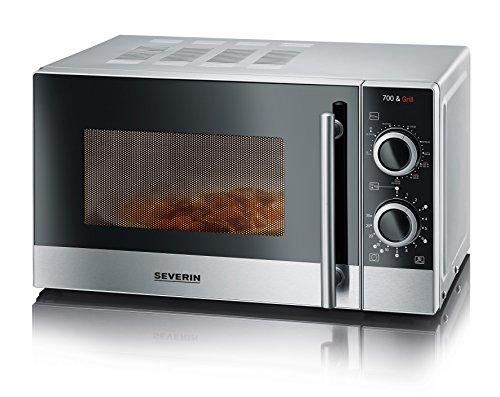 severin-mw-7874-mikrowelle-700-w-20-l-garraum-edelstahl-silber-grill-kombinierbar-