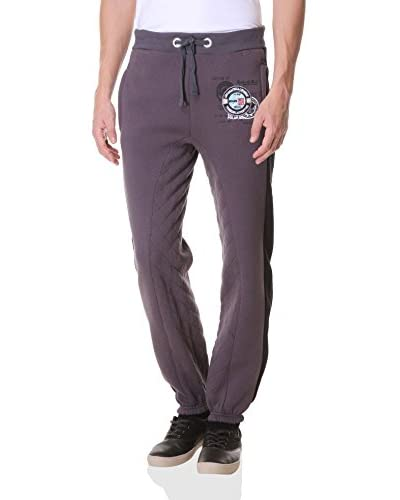 Geographical Norway Pantalone Felpa Moustache [Grigio]