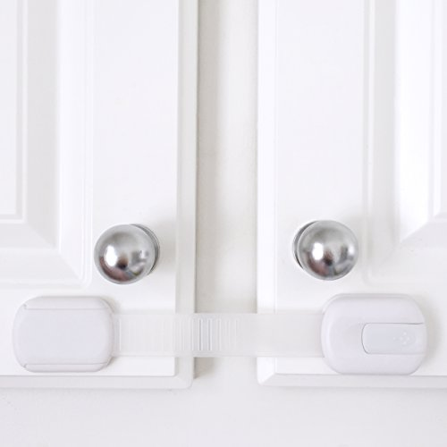 adjustable child safety cabinet locks latches to baby