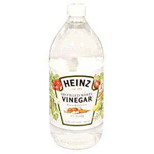 Heinz Distilled White Vinegar 32 oz - With its clean, crisp flavor, it's idea for your favorite salads, marinades, and recipes.