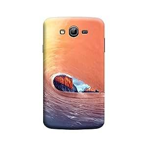 CaseLite Premium Printed Mobile Back Case Cover With Full protection For Samsung Grand (Designer Case)