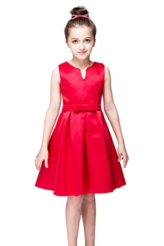 yming-girls-red-bowknot-flower-girl-birthday-party-tutu-stain-wedding-dress
