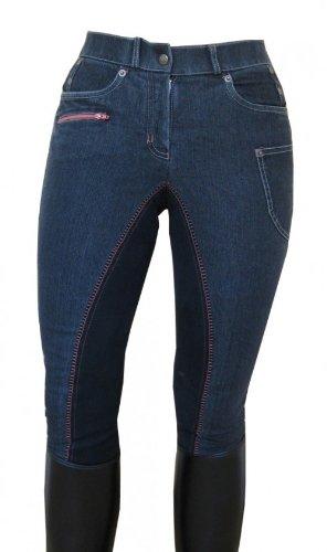 Jeans-Reithose Jacky, Vollbesatz aus Alos, HKM