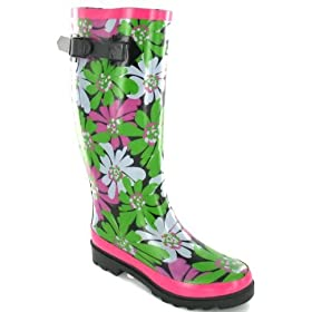 Luxury psychedelic festival wellie