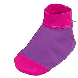 Sun Smarties UPF 50+ UV Protection Non-Skid Sand and Water Socks X-Small Purple