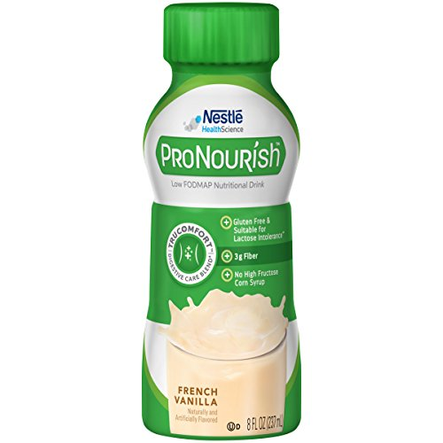 ProNourish Low FODMAP Nutritional Drink, French Vanilla, 8 Fluid Ounce (pack of 24)