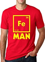 Iron Science T Shirt Funny Chemistry Shirt Periodic Table Tee