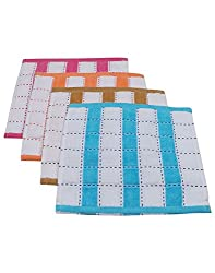 Gumber Pack of 12 Multicolor Striped Handkerchiefs (GE_RL_TL_132_12PC)