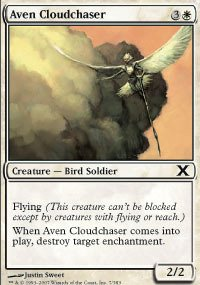 Magic: the Gathering - Aven Cloudchaser (7/383) - Tenth Edition (Cloudchasers Inc compare prices)