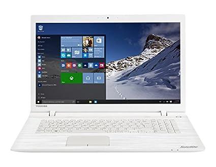 """Toshiba Satellite C70-C-1GH Ordinateur Portable 17"""" Blanc (Intel Pentium, 8 Go de RAM, Disque dur 1 To, Windows 10)"""