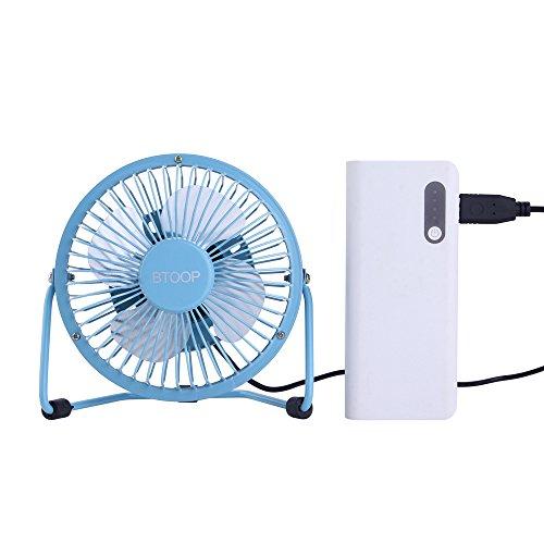 Table Fan Switches : Usb fans btoop desk fan mini personal metal design