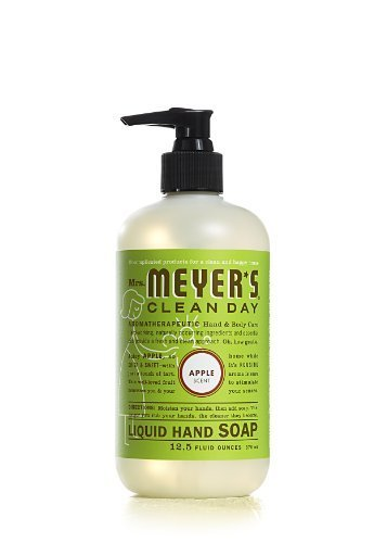 12.50 Oz Liquid Hand Soap in Apple by Mrs. Meyer's Clean Day (English Manual)