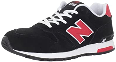 (狂降)新百伦New Balance Men's ML565 Lifestyle Running真皮时尚休闲鞋灰 $43.65