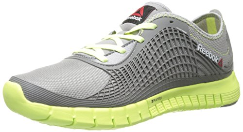 Reebok Women's Reebok Z Goddess Running Shoe,Tin Grey/Lemon Zest/Foggy Grey,9 M US