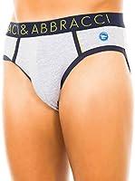 Baci & Abbracci Pack x 2 Slips (Gris Claro / Azul Marino)
