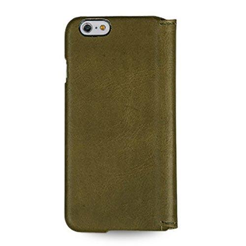 藤本電業株式会社 TETDED Premium 牛本革 ブックレザーケース for Apple iPhone 6 Plus 5.5  Mellac II Vintage: Olive TET6P-DJ28