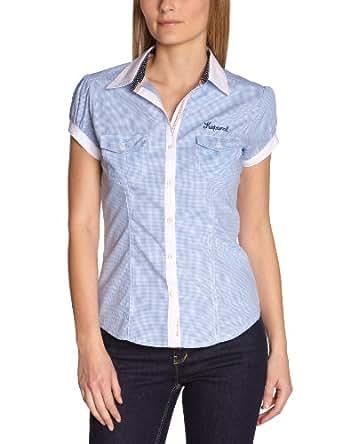 Kaporal Damen Shirt  JACKE13W4, Kent  - Blau - Bleu (Bluech) - 34 (Herstellergröße: S)