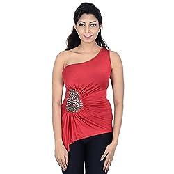 Danzon Women's Top (SLS90009_Red_Small)