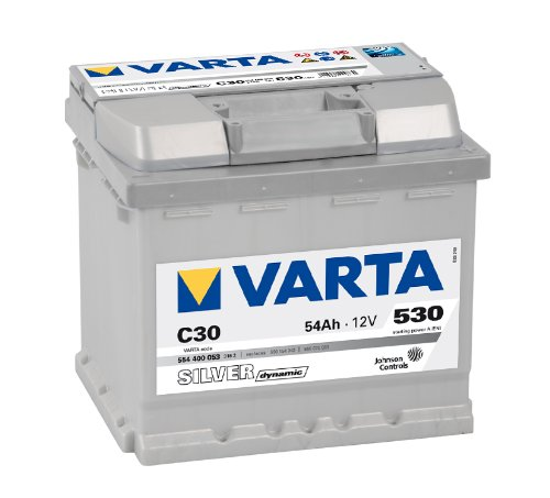 VARTA SILVER DYNAMIC AUTOBATTERIE C30 12V 54AH