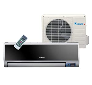 Klimaire 12,000 Btu 20 SEER, Energy Star, Ductless Mini Split Inverter Air Conditioner & Heat Pump, 220 volt, Ion Generator Air Purifying System, Active Carbon Filter, Evaporator Self Cleaning Function, Follow me Comfort Function on Remote Control + Free 16 ft Installation Kit.