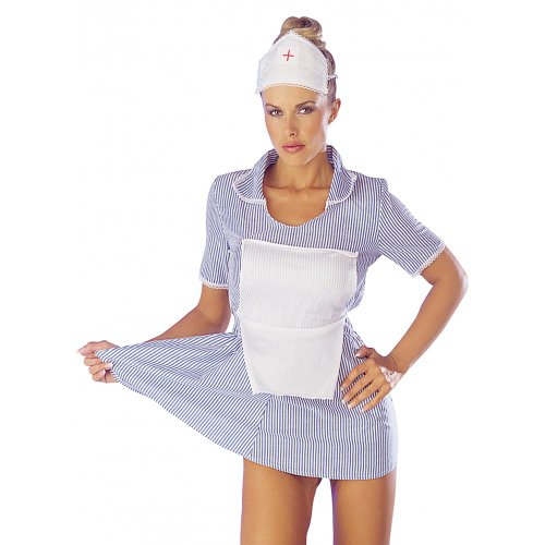 Camille Women's Seductive & Nurse Fancy Dress Costume
